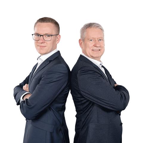 Jannes Paulisch und Thomas Paulisch